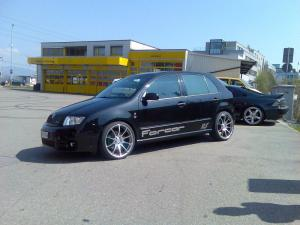 Skoda Fabia RS by forcar.ch
