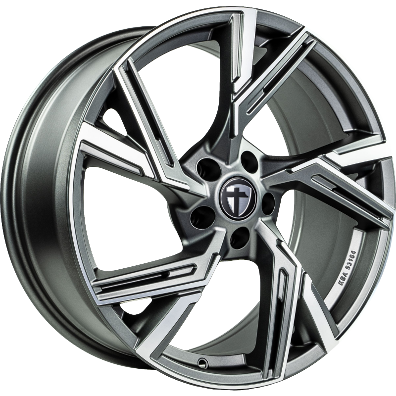 Tomason AR1 anthracite diamond polished